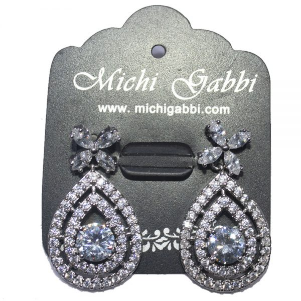 Silver Oval Cubic Zirconia