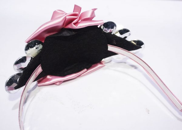Girly Pink Hair Band with Blings